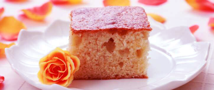 Eggless wheat flour cake in an easy and simple steps